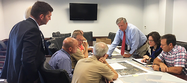 VDOT Discusses HRBT Expansion with the U.S. Navy
